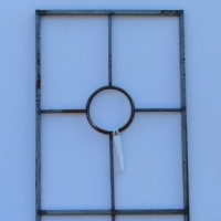 Wrought Iron Modern Trellis