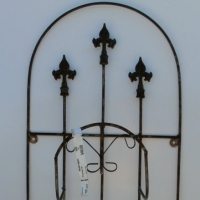 Wrought Iron Hose Trellis