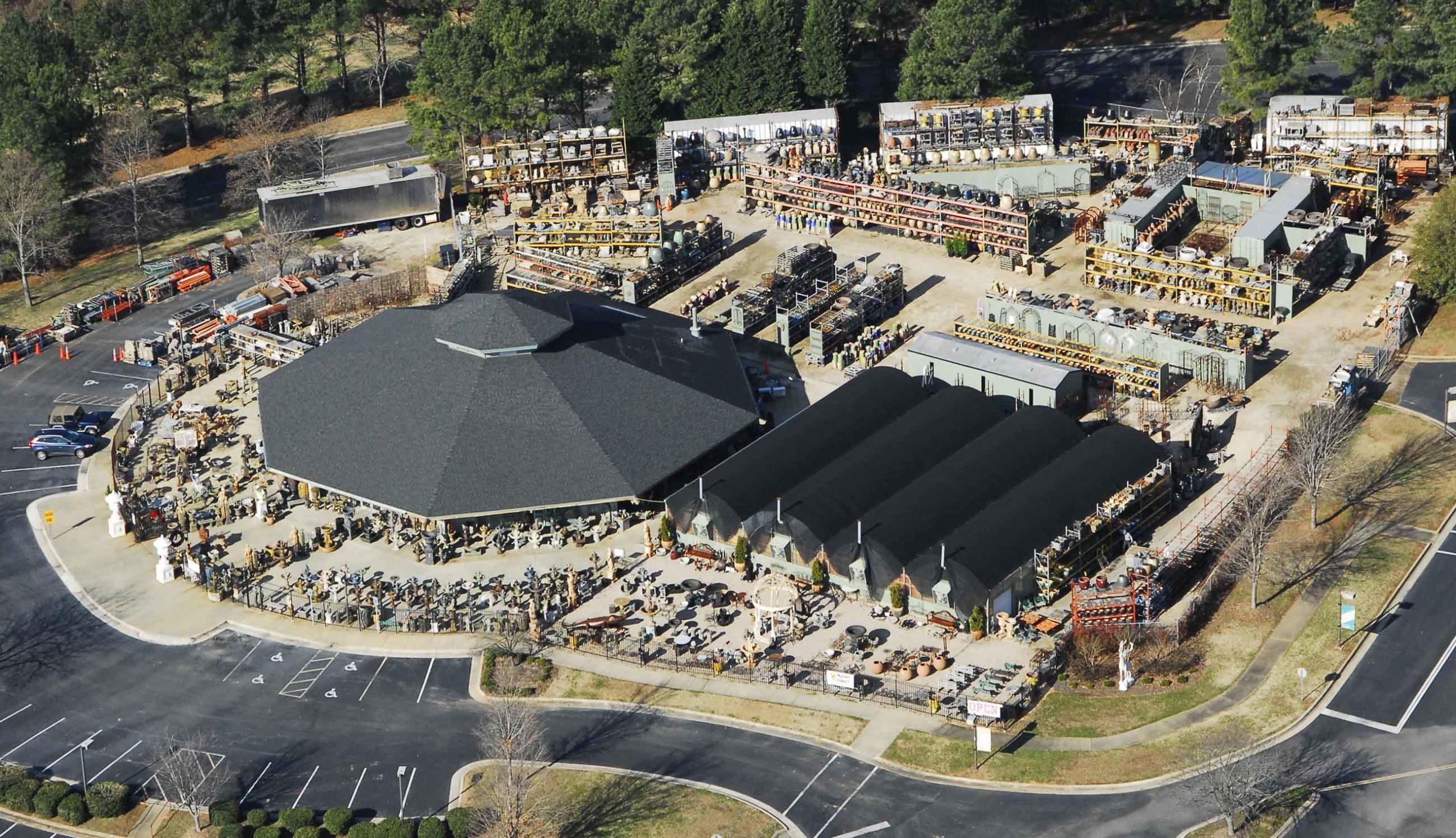Market Imports Aerial Photo